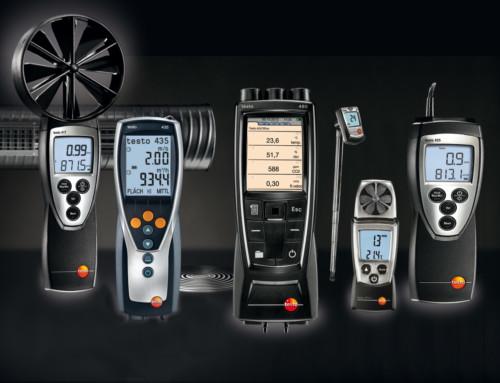 Légtechnikai mérések Testo mérőműszerekkel
